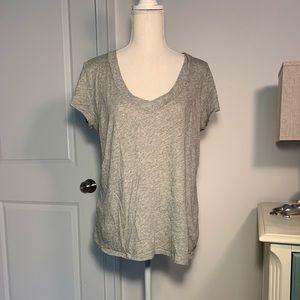 James Perse Slub Suprima Cotton Jersey Shirt